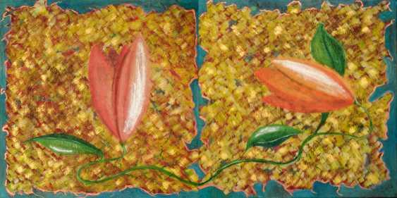 Oleksii Nosenko. Still life of two tulips. - photo 1