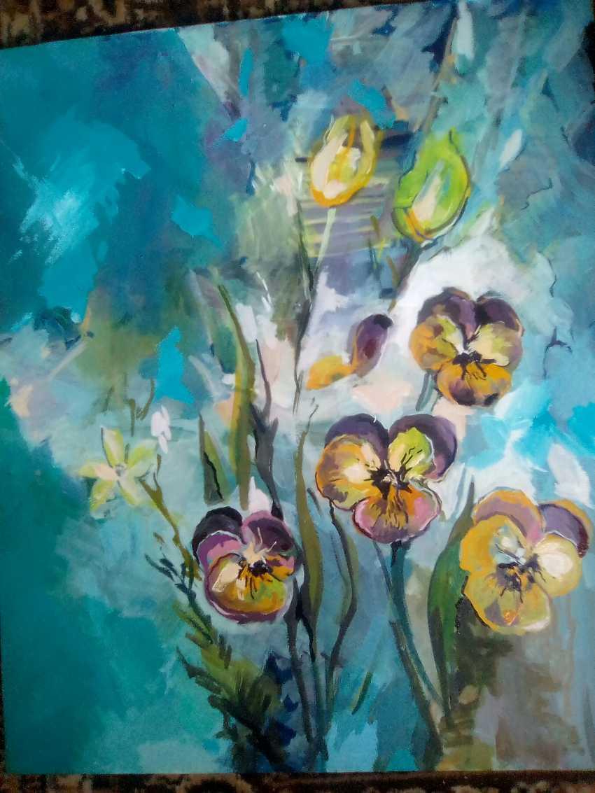 TAMARA KOTOLKYAN. Flowers solitary - photo 1