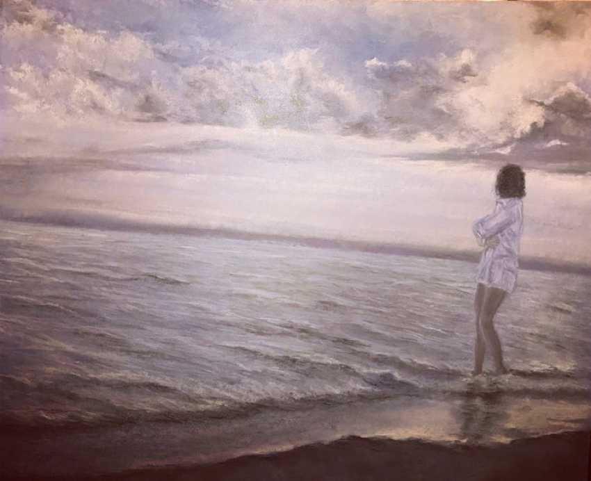 Luybov Ivanova. Girl at the sea - photo 1
