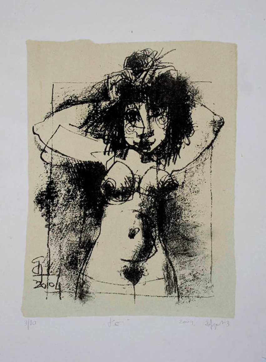 Bidzina Kavtaradze. Nude. - photo 1