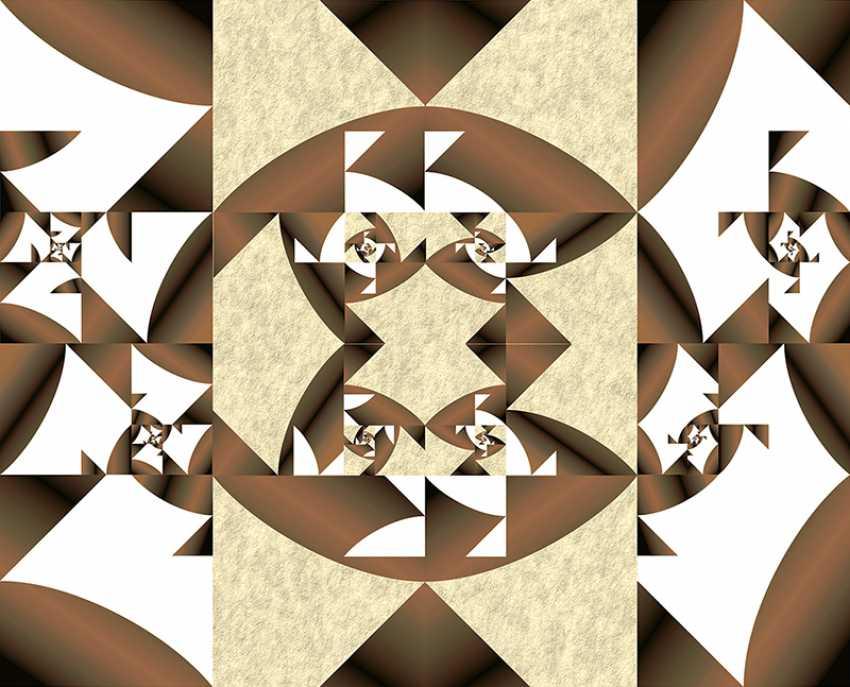 "Yuriy Safonov. ""Geometric surrealism"" and the number of Fibonacci - photo 1"
