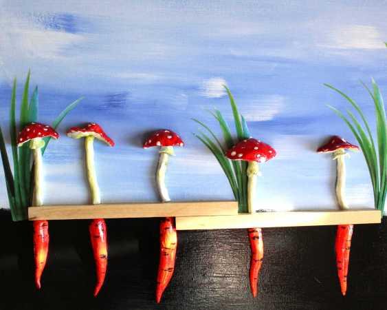 Dimitriy Zapylihin. Mushrooms-carrots - photo 2