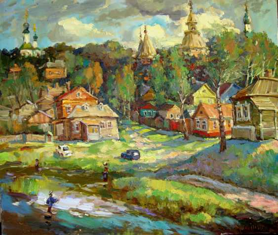 Andrey Mishagin. Provincial town - photo 1