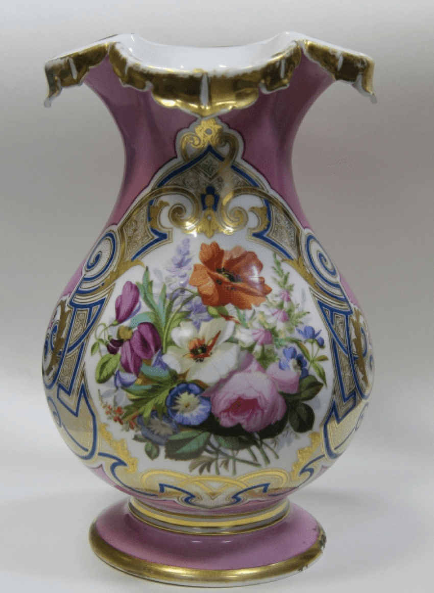 Interior porcelain / Vase - photo 1