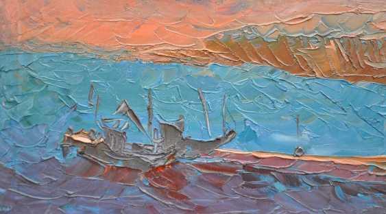 Olga Bezhina. Marina with boats - photo 1