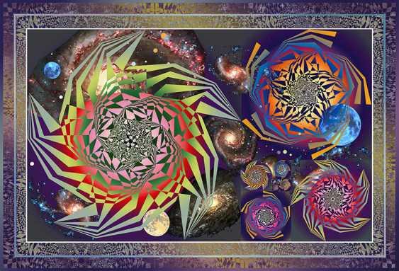 Yuriy Safonov. Tumbleweed-galaxy — objects, unidentified structure - photo 1