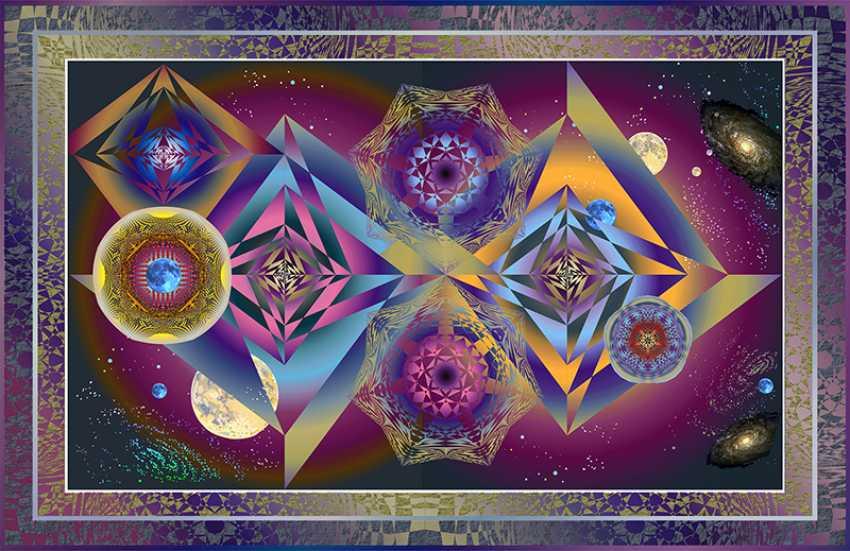 Yuriy Safonov. Energy chronometrage Space pyramids - photo 1
