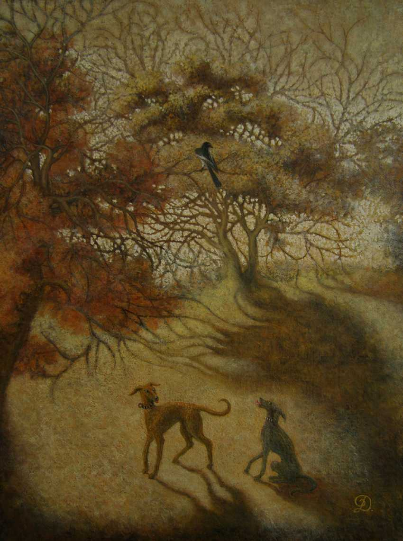 "Irina Dobrovetska. ""Shadows of forest"". - photo 1"