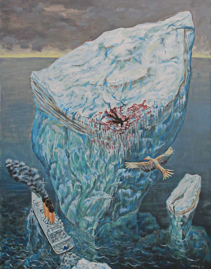 lev karnaukhov. Swimming a large ship (the Fall of Icarus) - photo 1