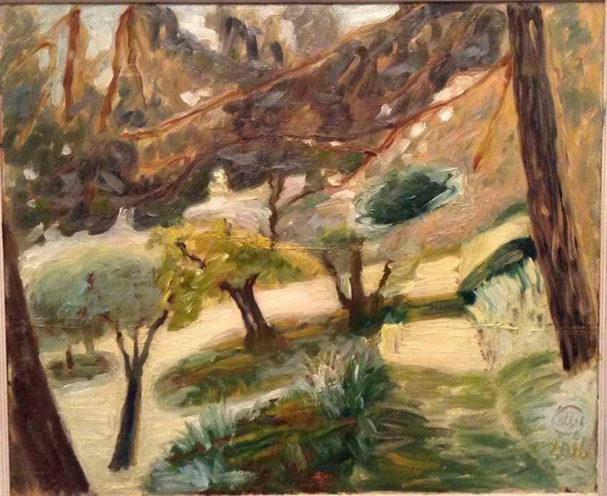 Alla Senatorova. Hot wind in pine trees of Ancona - photo 1