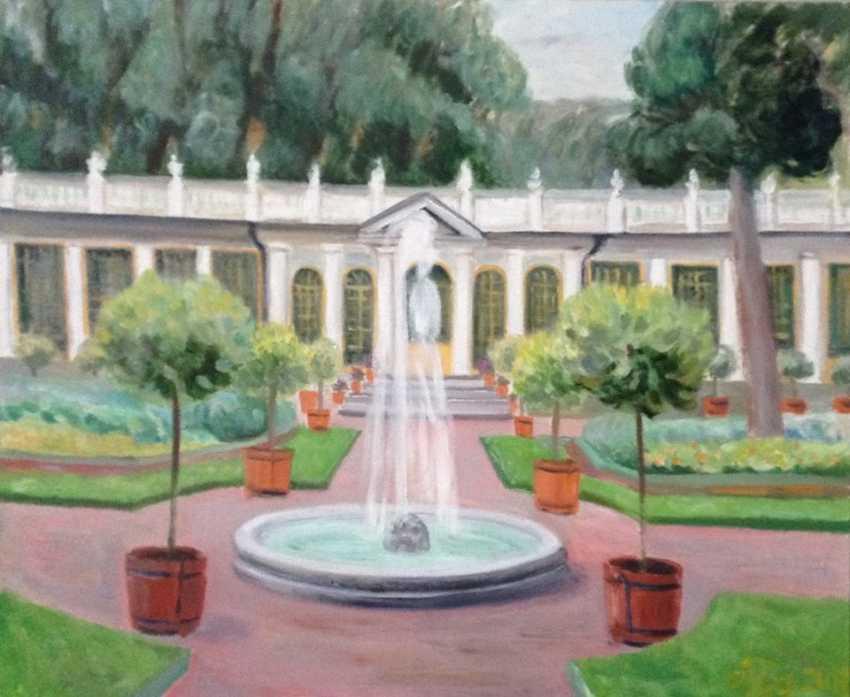"Alla Senatorova. Pavilion in ""Summer garden"" in Saint-Petersburg"" - photo 1"