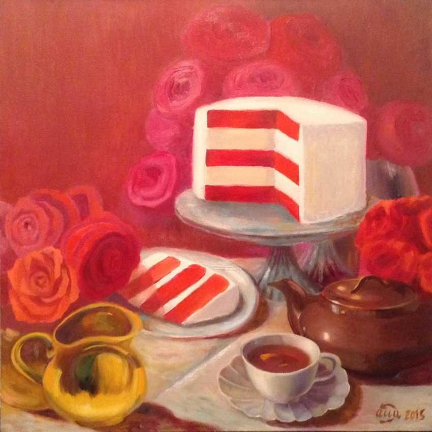 Alla Senatorova. Red cake. - photo 1