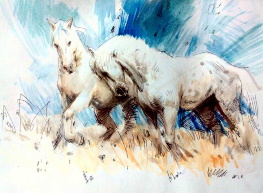 Aleksey Tochin. Horses - photo 1