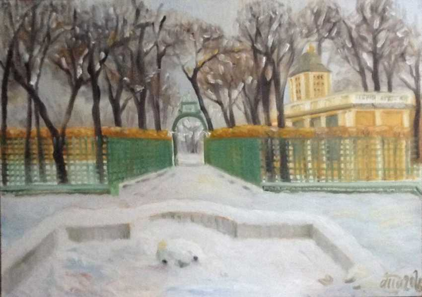 "Alla Senatorova. Winter in ""Summer garden"" - photo 1"