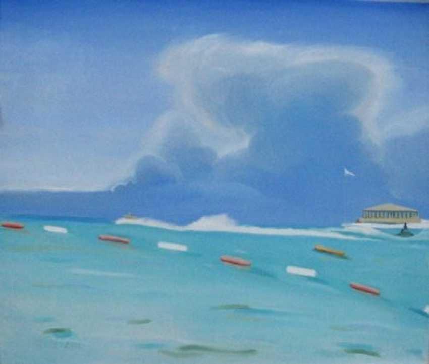Alla Senatorova. Cloud above sea. - photo 1