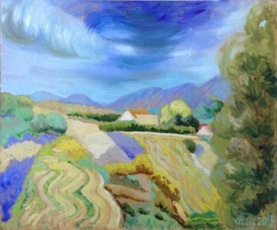 Alla Senatorova. Field. Cyprus. - photo 1