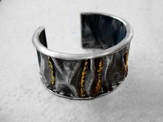 Roman Volkov. Silver bracelet with gold plating - photo 2