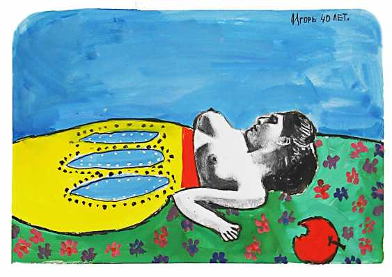 """Igor Nikolaev. The series """"Soap marusen'ka white legs"""" - photo 3"""