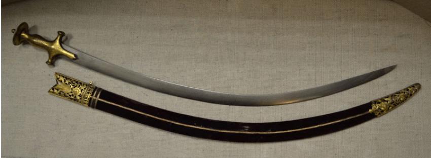 Talwar India, XVIII century blade damask - photo 1
