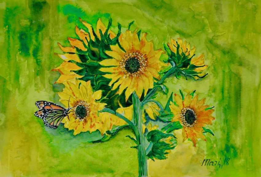 Maryna Pashchenko. Sunflower. - photo 1