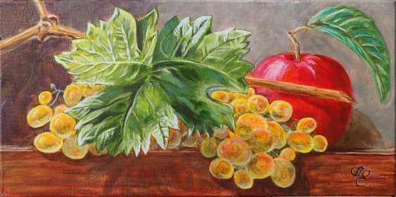 DMYTRO YEROMENKO. still life with grapes - photo 1