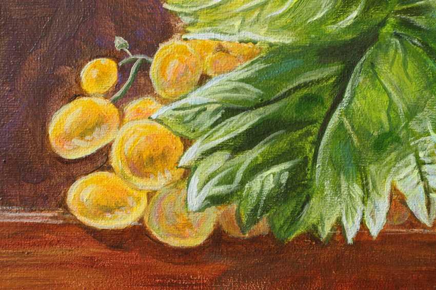 DMYTRO YEROMENKO. still life with grapes - photo 2