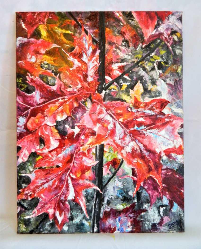 """olga khobot. """"Autumn oak"""" - photo 1"""