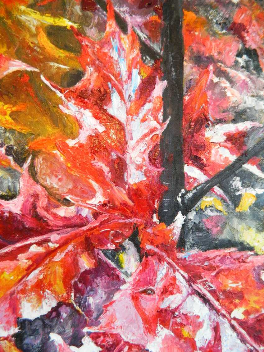 """olga khobot. """"Autumn oak"""" - photo 3"""