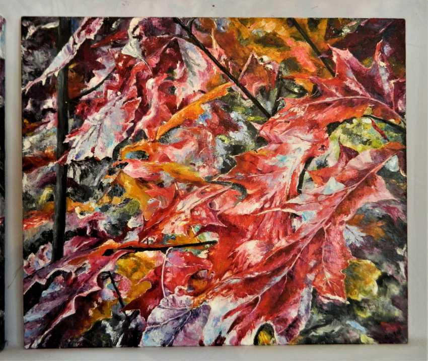 olga khobot. Autumn in the oak grove No. 2 - photo 1