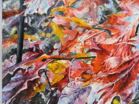 olga khobot. Autumn in the oak grove No. 2 - photo 2