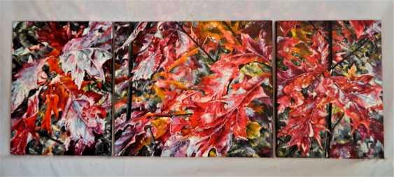 olga khobot. Autumn in the oak grove No. 2 - photo 4