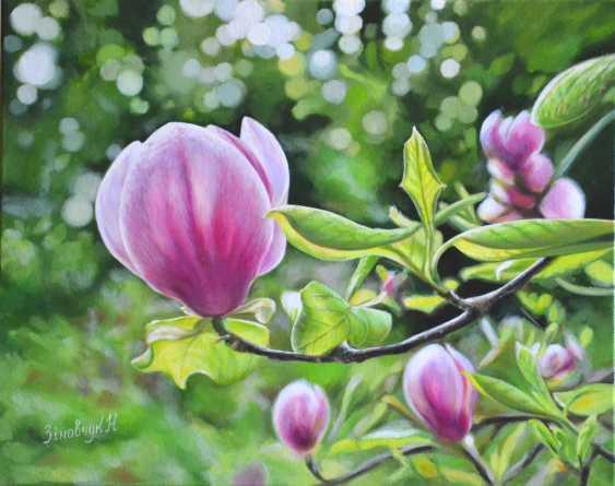 Natali Zinovchuk. Pink Magnolia - photo 1
