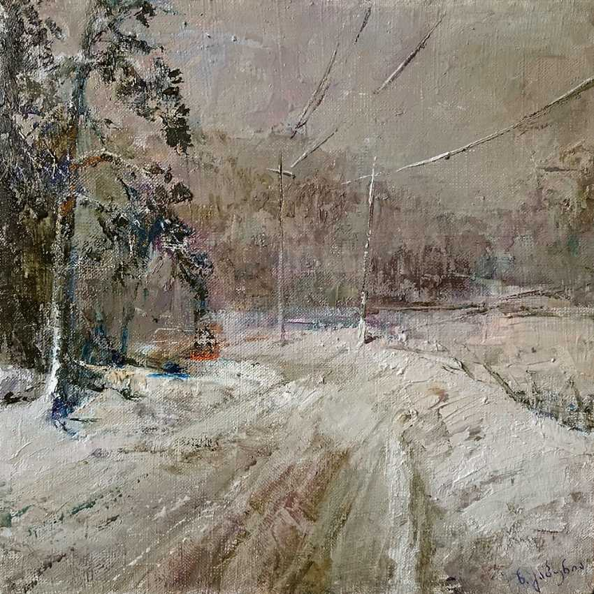 Nikoloz Gabunia. Winter in Bakuriani - photo 1