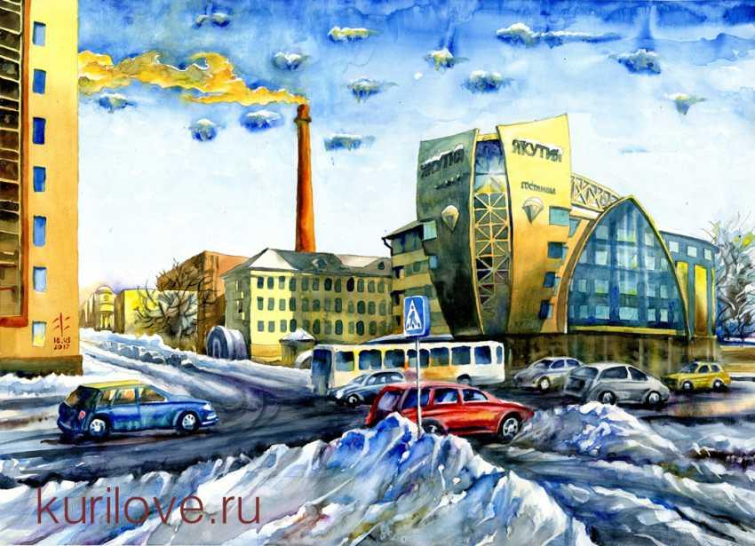 """Vladimir Kurilov. Hotel """"Yakutia"""" - photo 1"""