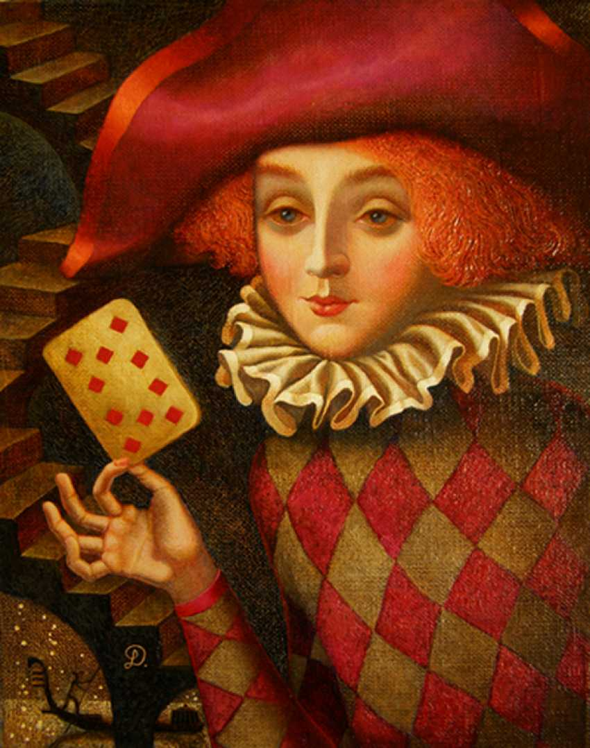 "Irina Dobrovetska. ""Ten of diamonds."" - photo 1"