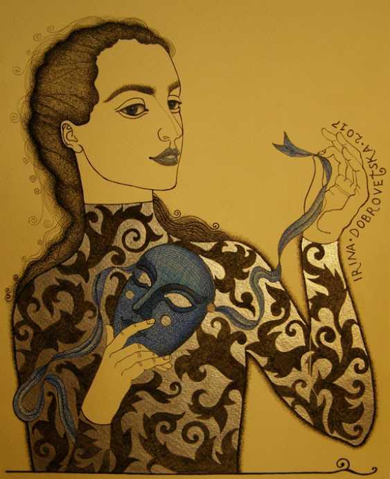 """Irina Dobrovetska. """"Sapphire."""" - photo 1"""