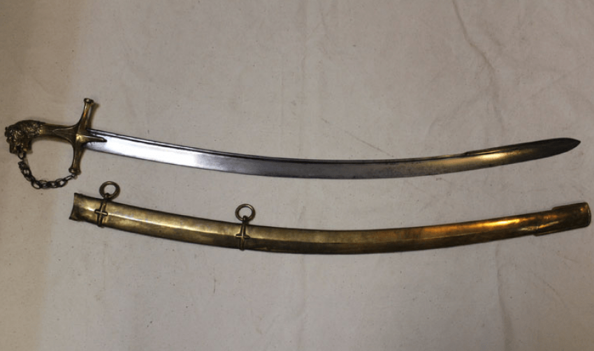 Sabre French, the drum-major, 19th century. - photo 1