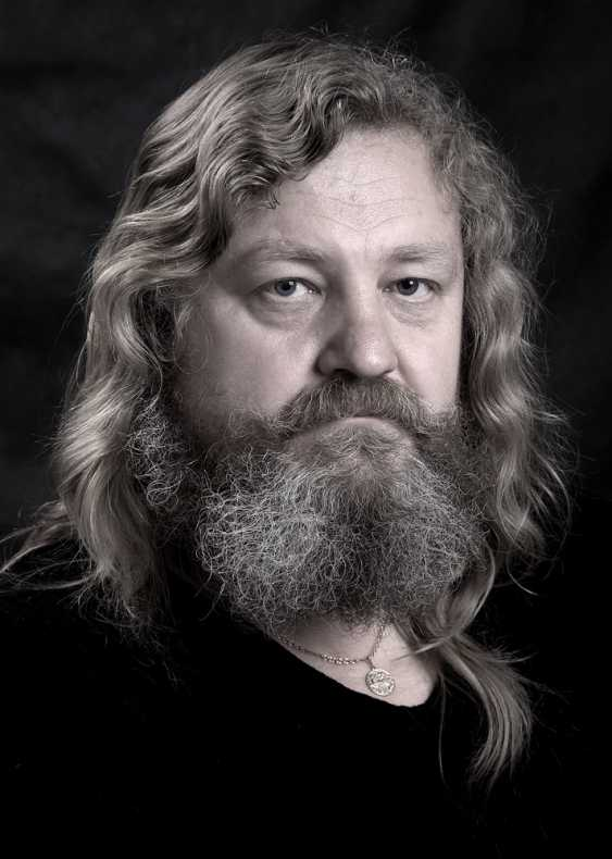 Yauhen Zaluzhny. portrait of a man - photo 1