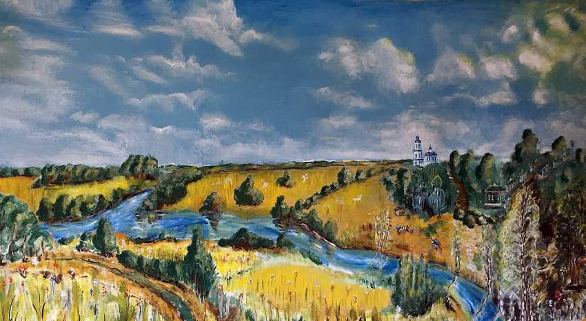 Yauhen Zaluzhny. summer landscape - photo 1