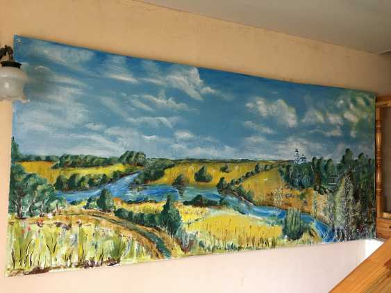 Yauhen Zaluzhny. summer landscape - photo 2