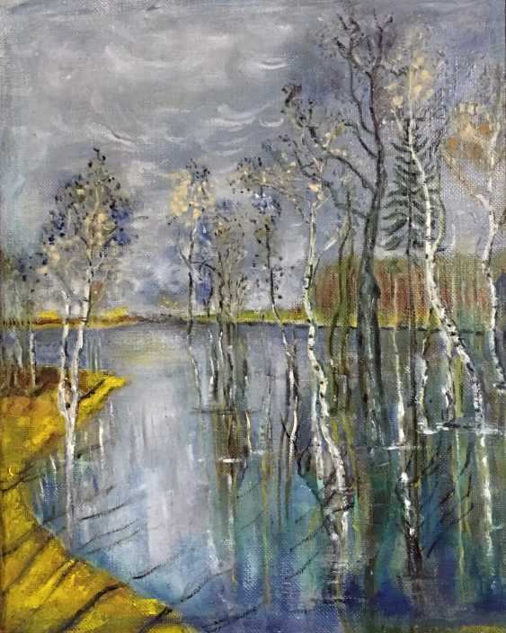 Yauhen Zaluzhny. forest lake - photo 2