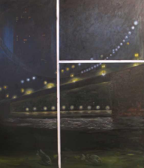 Sergiy Roy. Night bridge (3 pieces) - photo 1