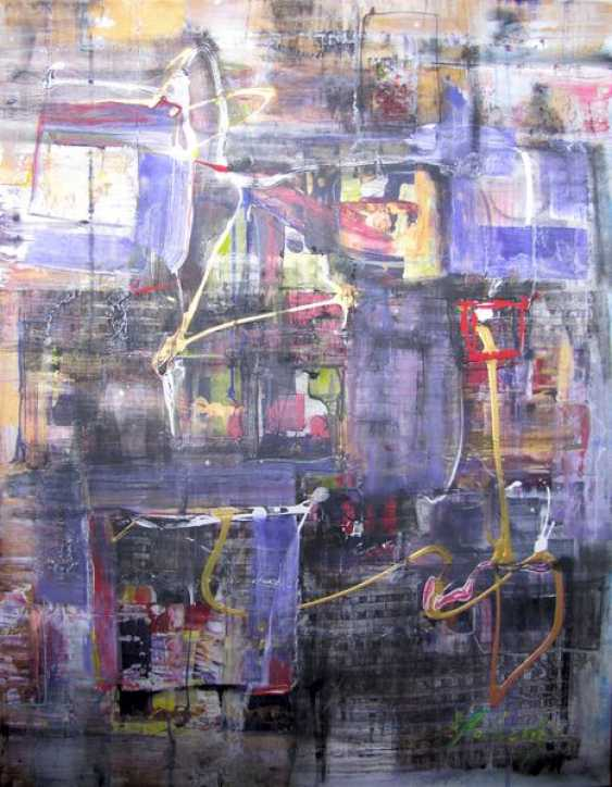 Matkovsky Dmitri. Night Wizard Of Concrete Jungle, original Abstract Night the Wizard of Concrete Jungle, Abstract original - photo 1