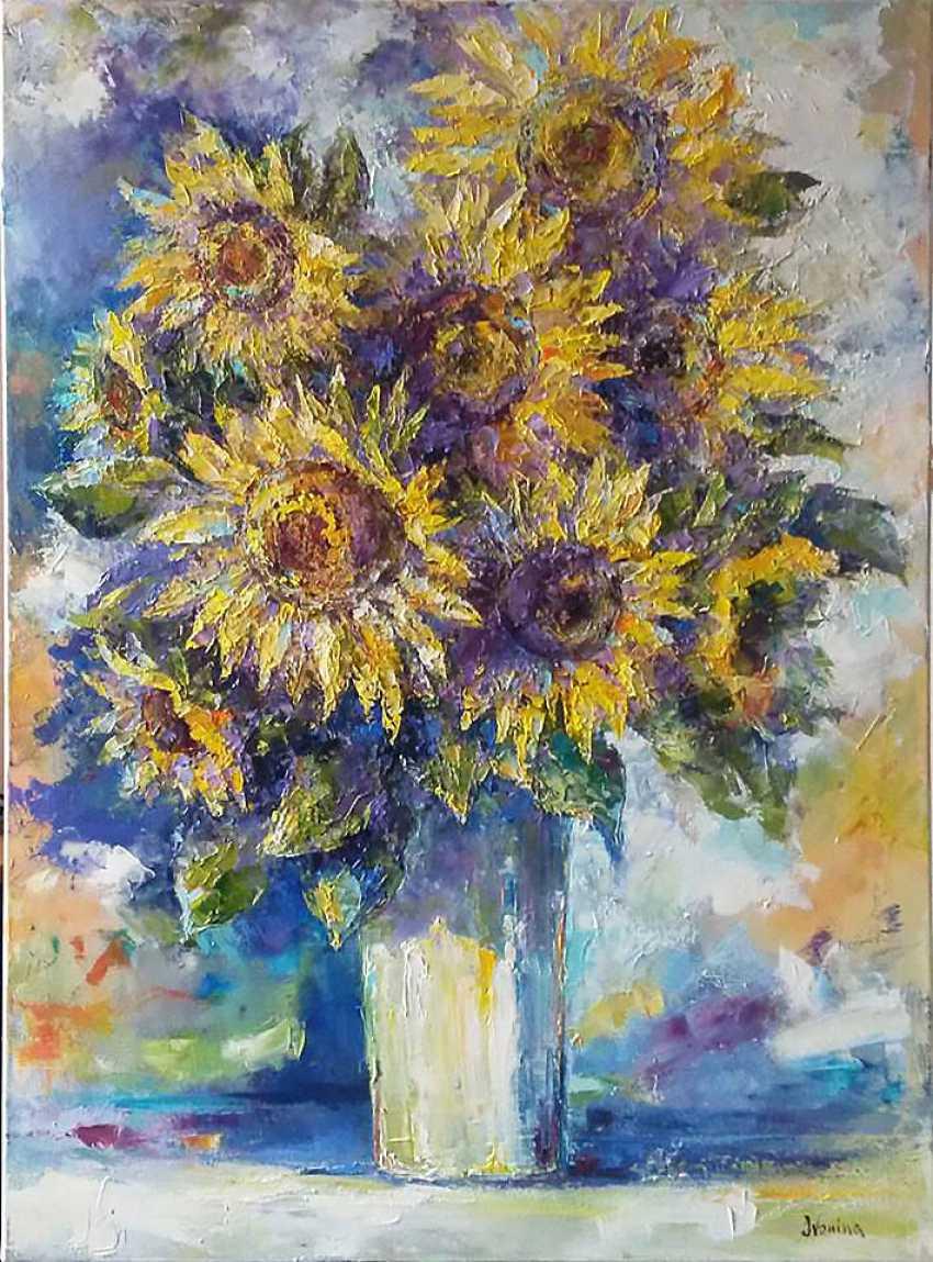 Kateryna Ivonina. Sunflowers - photo 1