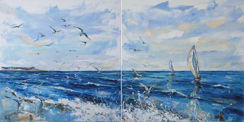 Kateryna Ivonina. Seagulls - photo 1
