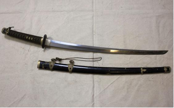 Sword Japanese sea sample 1930s g - photo 1