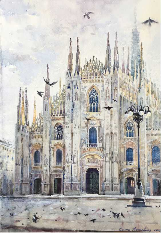Ekaterina Slota. Cathedral in Milan - photo 1