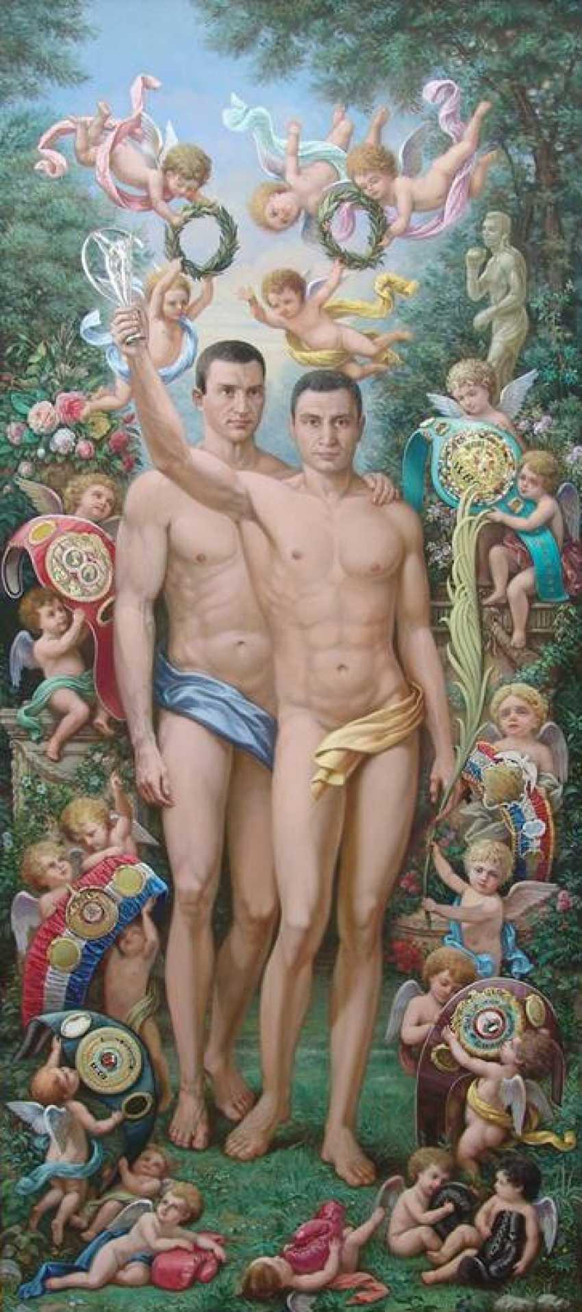 Oleh Borovych. Brothers Klitschko - photo 1