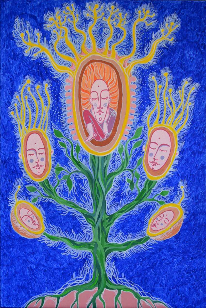 Lidia Matviyenko. Tree of life / Tree of life - photo 1