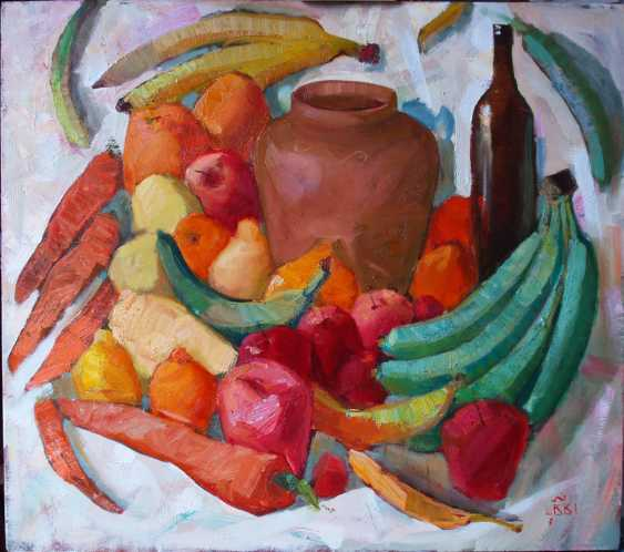 Viacheslav Shulika. Green bananas - photo 1